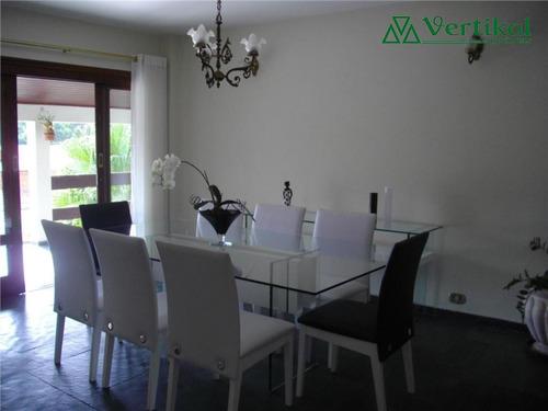 casa residencial a venda, sao paulo ii, granja viana - v-12