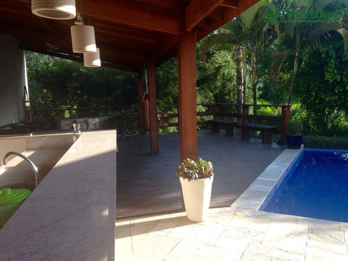 casa residencial a venda, sao paulo ii, granja viana - v-3115