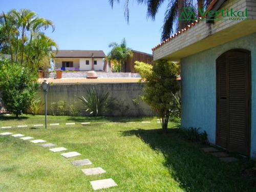 casa residencial a venda, sao paulo ii granja viana - v-513