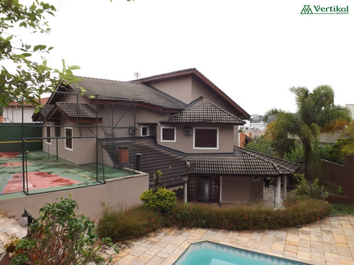 casa residencial a venda, sao paulo ii, granja viana - v-530