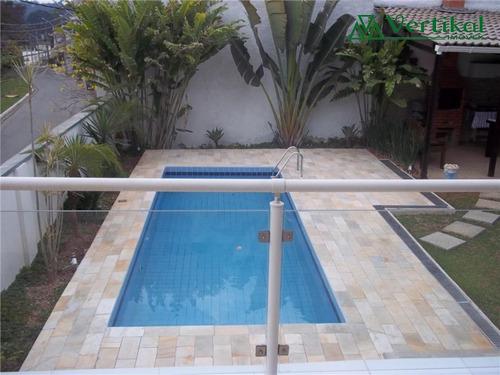 casa residencial a venda, sao paulo ii, granja viana - v-80