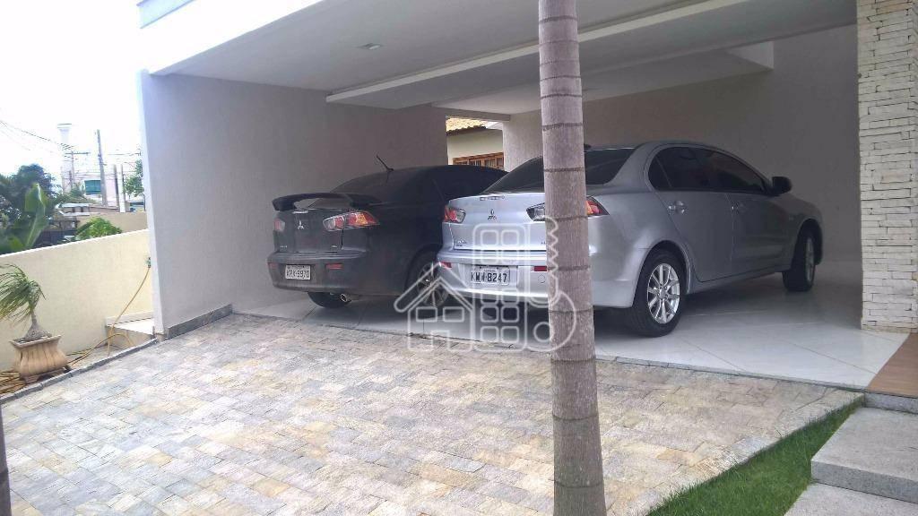 casa  residencial alto padrão no picolé, finamente decorada e mobiliada à venda, camboinhas, niterói. - ca0166