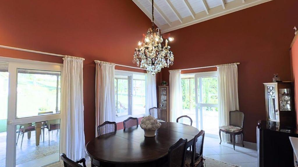 casa residencial alto padrão à venda, condomínio terras de são josé, itu - ca0171. - ca0171