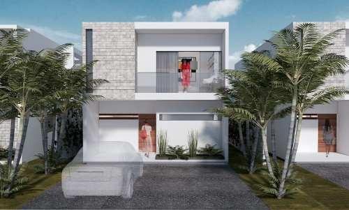 casa residencial bogatell playa del carmen nueva de lujo