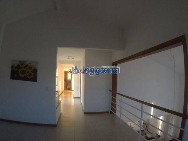 casa residencial  com 4 dormitórios à venda, 242 m² por r$ 900.000 - condomínio vale do arvoredo - londrina/pr - ca0302