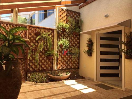 casa residencial de alto padrão  à venda, jardim eneide, atibaia. - ca0990