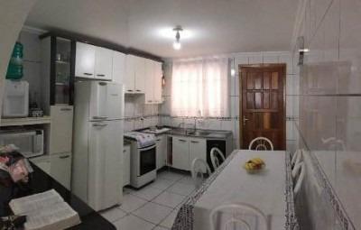 casa residencial de frente para a rua averbada com mobilia - 99467001