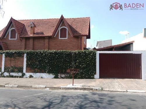 casa residencial em campinas - sp, jardim santa genebra - ca01073