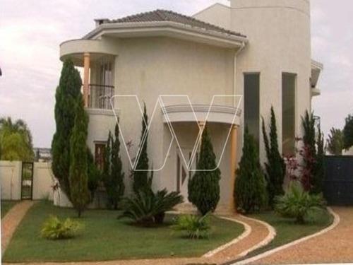 casa residencial em campinas - sp, loteamento alphaville - ca00756