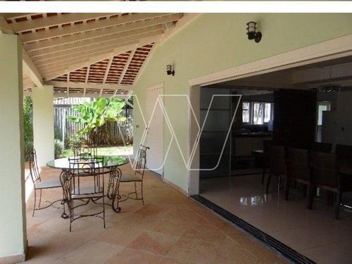 casa residencial em campinas - sp, notre dame - ca00852
