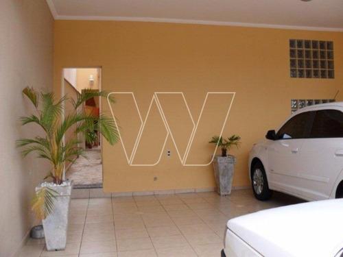 casa residencial em campinas - sp, parque das flores - ca00679
