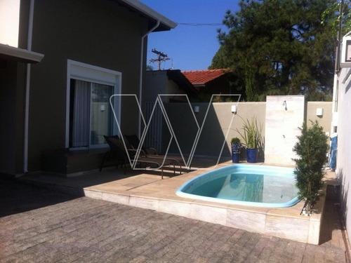 casa residencial em campinas - sp, vila industrial - ca00866