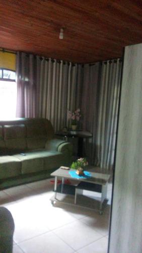 casa residencial em juquitiba com 2 dormitórios