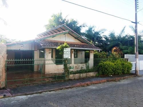casa residencial em penha - sc, centro - 250m