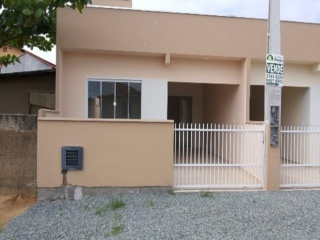 casa residencial em penha - sc, praia de armação - 185f