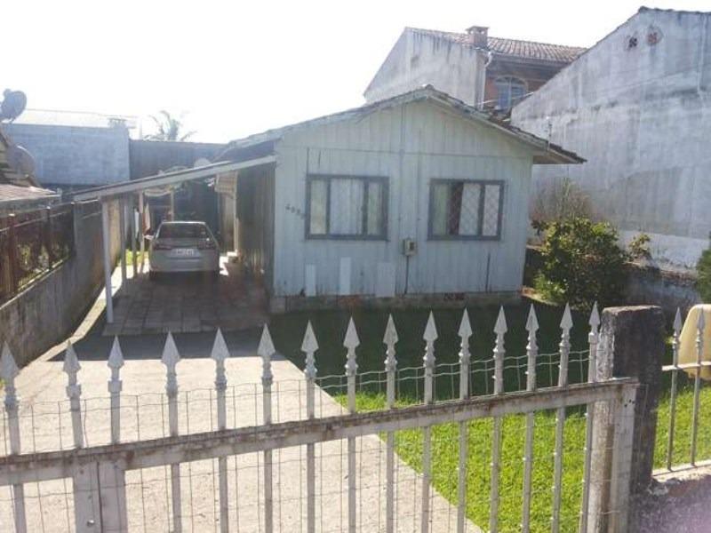 casa residencial em penha - sc, praia de armação - 300c