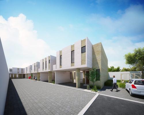 casa residencial en conjunto de 5 casas, por uvm