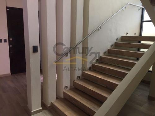 casa residencial en renta, col. arboledas, tampico, tamaulipas.