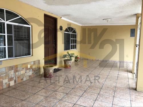 casa residencial en venta, col. hidalgo, tampico, tamaulipas.
