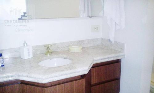 casa  residencial para locação, acapulco, guarujá. - ca0266