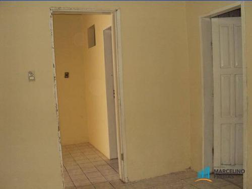 casa residencial para locação, álvaro weyne, fortaleza - ca0277. - ca0277