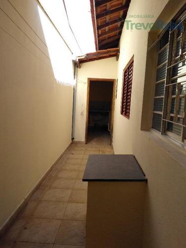 casa residencial para locação, ana carolina, valinhos. - ca1227