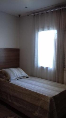 casa  residencial para locação, campestre, santo andré. - ca0277