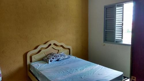 casa  residencial para locação, chácara machadinho i, americana. - codigo: ca0654 - ca0654