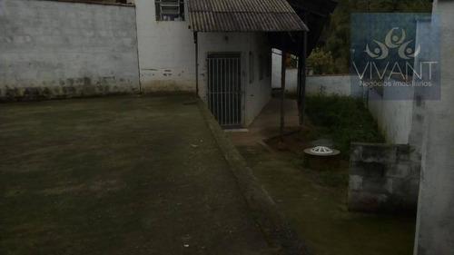 casa residencial para locação, chácara sete cruzes, suzano. - ca0127