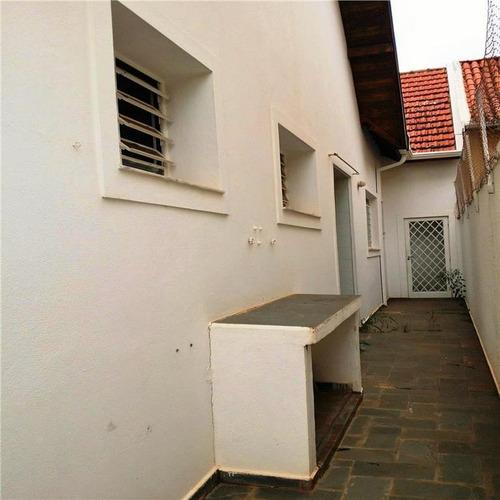 casa residencial para locação, cidade universitária, campinas - ca0455