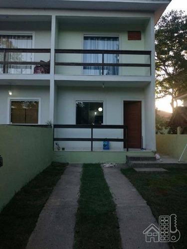 casa residencial para locação, engenho do mato, niterói. - ca0114