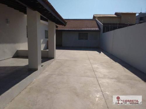 casa residencial para locação, fragata, marília. - ca0323