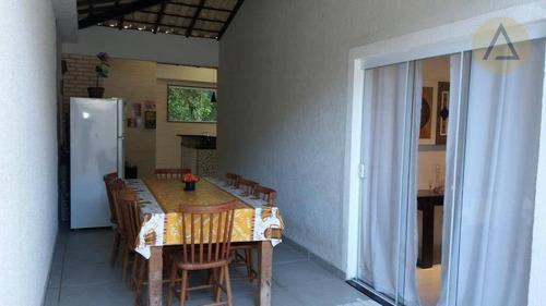 casa residencial para locação, granja dos cavaleiros, macaé. - ca0580