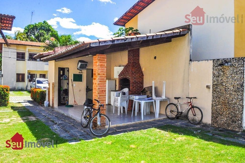 casa  residencial para locação, guajiru, fortaleza. - ca0278