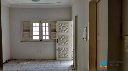 casa residencial para locação, jacarecanga, fortaleza - ca1251. - ca1251
