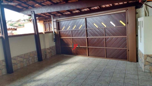 casa residencial para locação, jardim paulista, atibaia. - ca1588