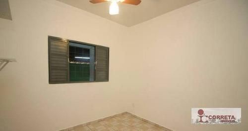 casa residencial para locação, palmital, marília. - ca0486
