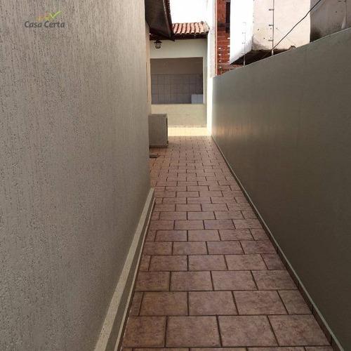 casa residencial para locação, recanto do itamaracá, mogi guaçu. - ca0081