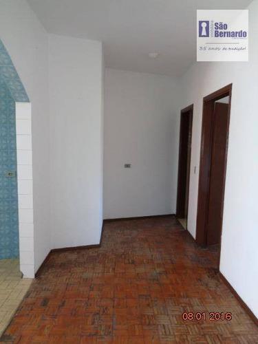 casa residencial para locação, são manoel, americana. - ca0005