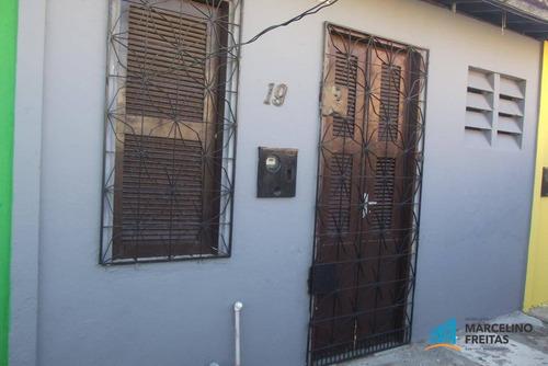 casa residencial para locação, vila ellery, fortaleza. - codigo: ca0579 - ca0579