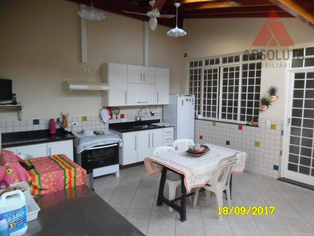 casa residencial para locação, vila nossa senhora de fátima, americana. - ca1724