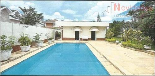 casa residencial para venda e locação, alto da boa vista, são paulo - ca0208. - ca0208