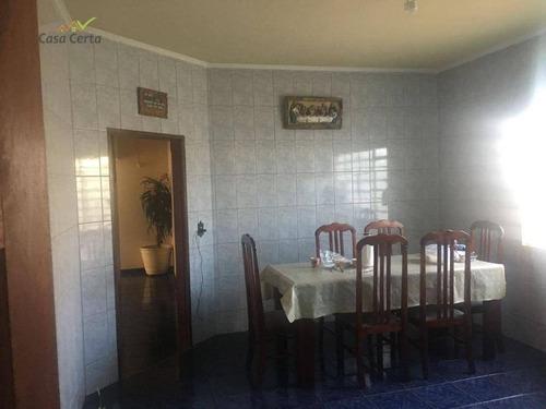 casa residencial para venda e locação, jardim fantinato, mogi guaçu. - ca0881