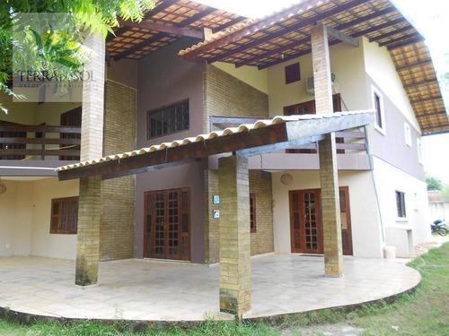 casa residencial para venda e locação, mangabeira, eusébio. - ca0792