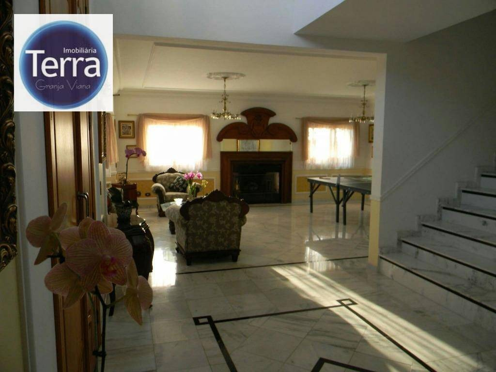 casa residencial para venda e locação, parque das artes, granja viana. - ca0854