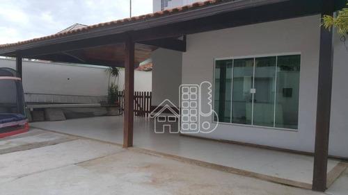 casa residencial para venda e locação, piratininga, niterói - ca0619. - ca0619
