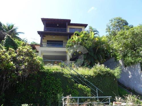 casa residencial para venda e locação, piratininga, niterói. - ca0651
