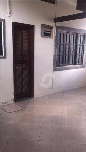 casa residencial para venda e locação, serra grande, niterói. - ca0455