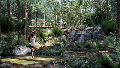 casa residencial playa del carmen 1600 m2 nueva selva cenote