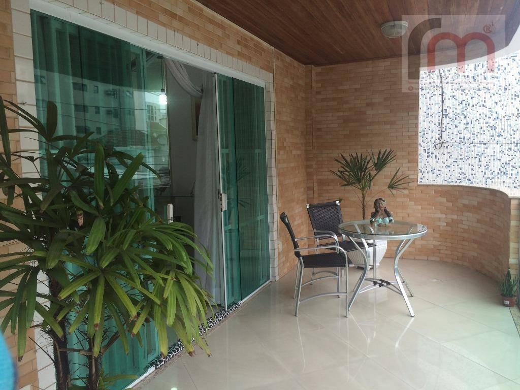 casa residencial sobreposta alta com piscina à venda, marapé, santos/sp. - codigo: ca0165 - ca0165